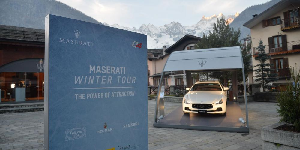 Maserati Winter Tour