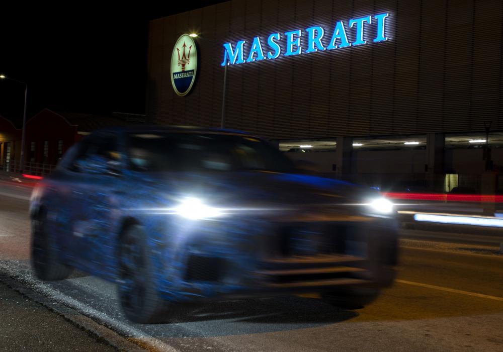 Maserati se podělilo o úplně první  obrázky prototypu SUV Grecale