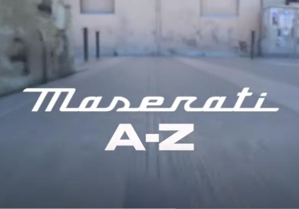 Maserati od A do Z
