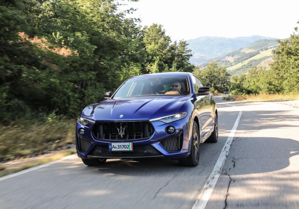 Maserati Levante Trofeo v testu magazínu Speed