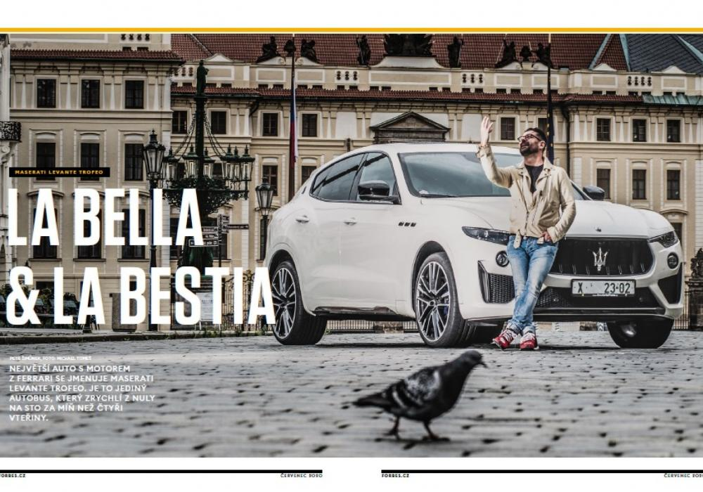 Maserati Levante Trofeo v testu magazínu Forbes