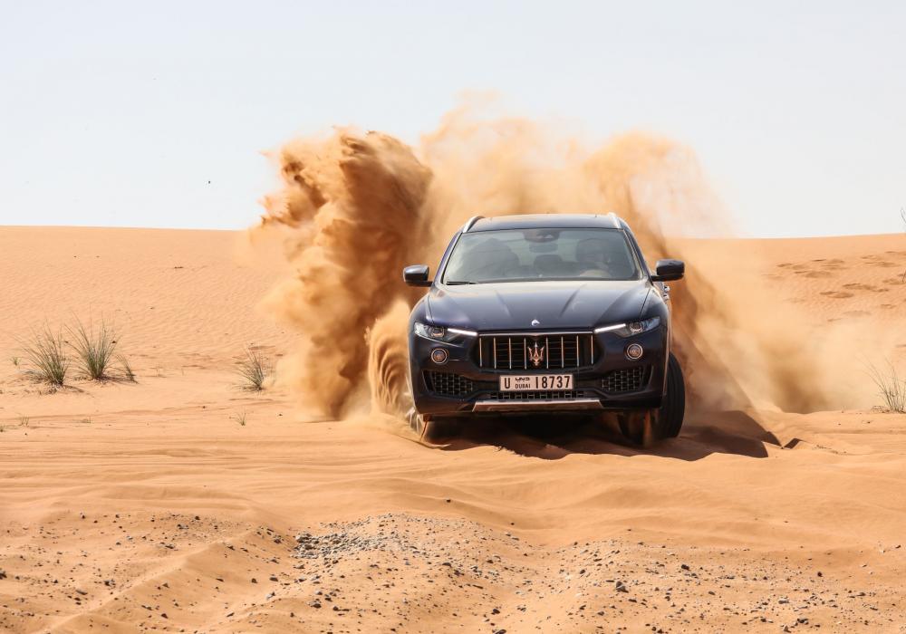 Maserati Levante MY18 - test v poušti