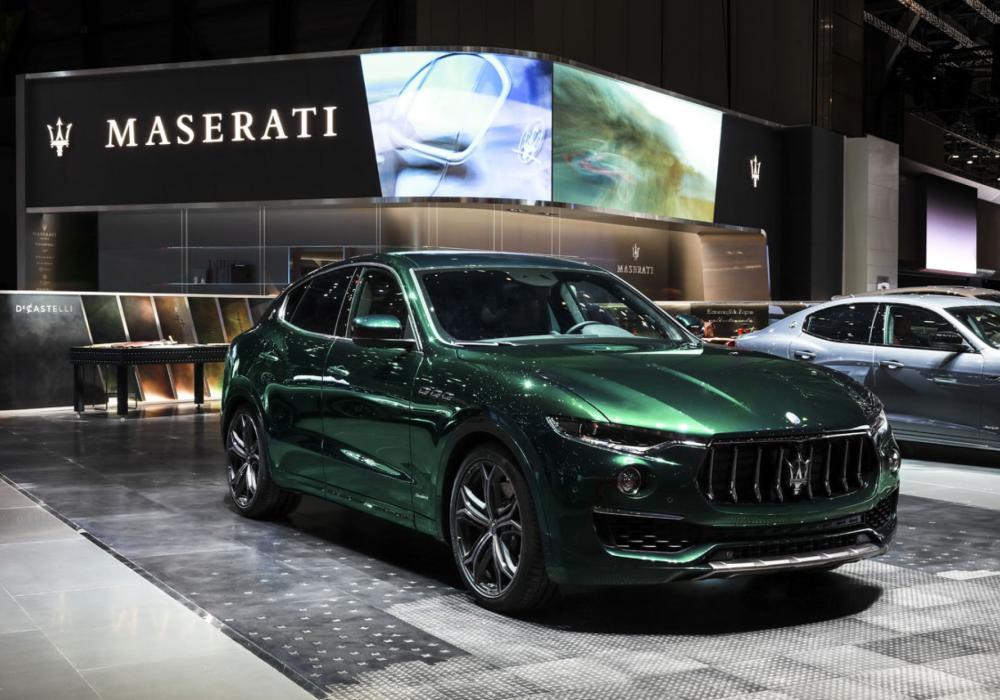 Maserati Levante One of One a unikátní interiérové prvky na autosalonu v Ženevě