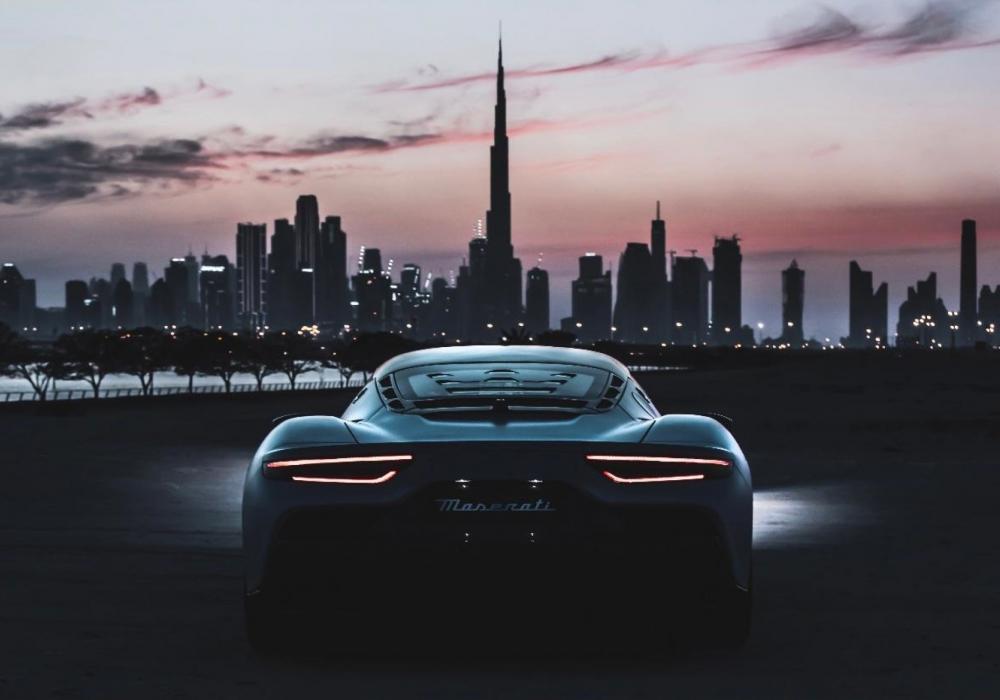 Maserati na Expo 2020 v Dubaji
