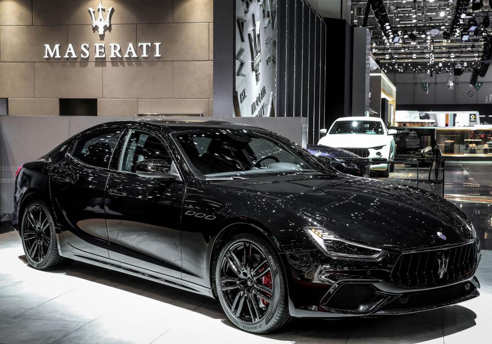 Maserati prezentovalo na autosalonu v Ženevě NERISSIMO paket