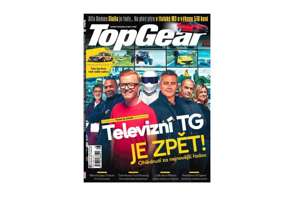 Top Gear - novinářský test drive GTC4Lusso