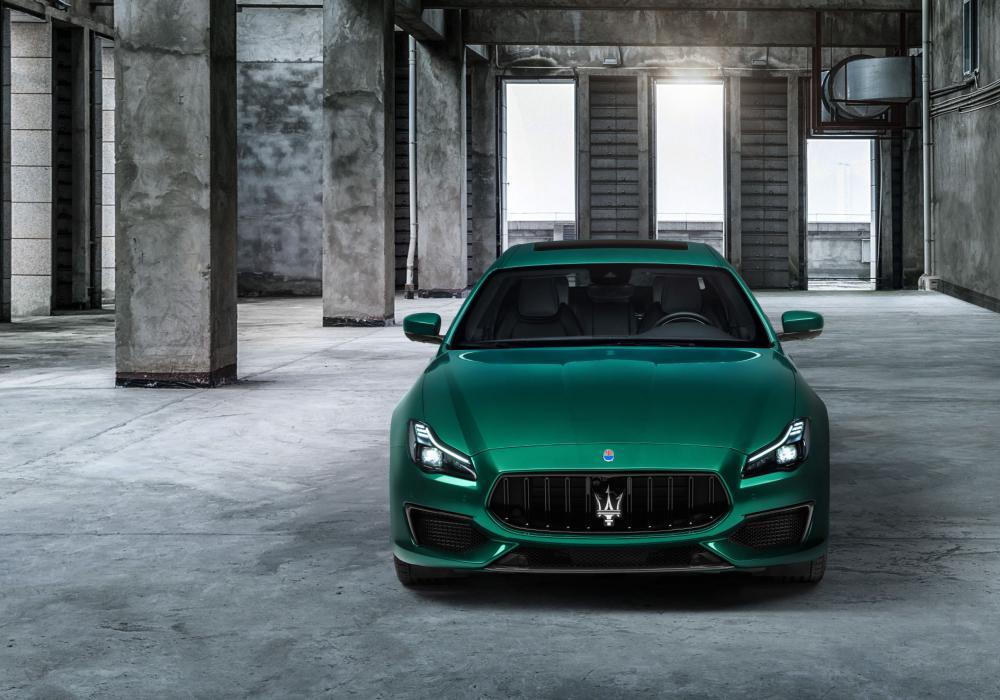 Maserati Quattroporte Trofeo V8 - Volná specifikace