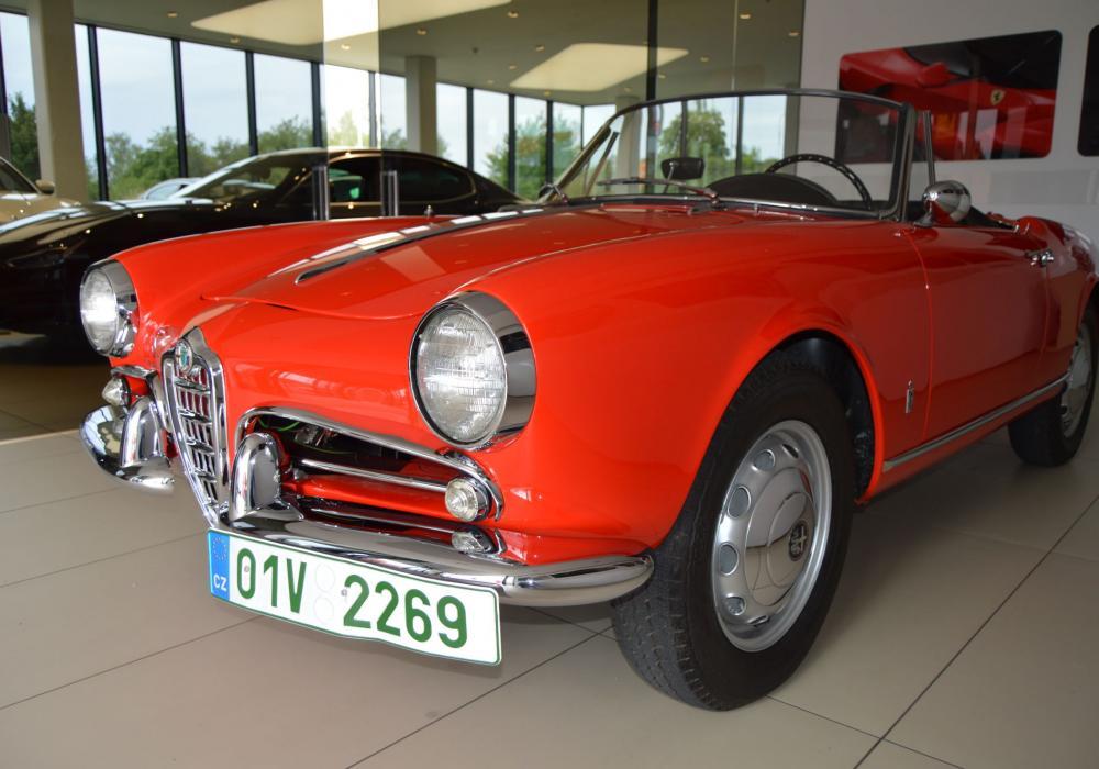 Alfa Romeo Giulietta Spider 1300