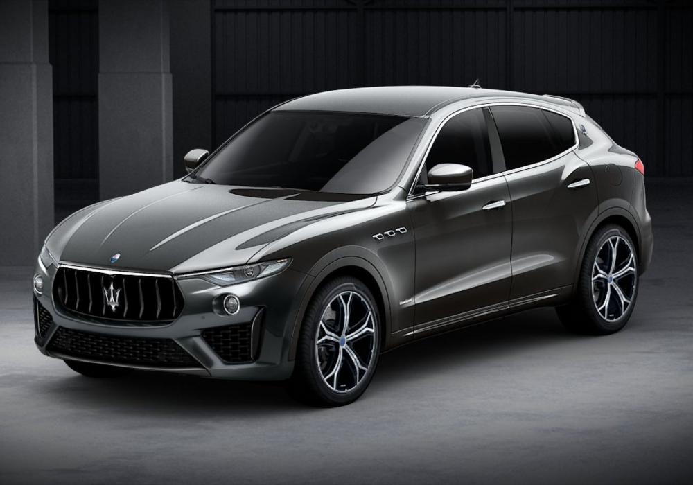Maserati Levante S Zegna Pelletessuta Special Edition