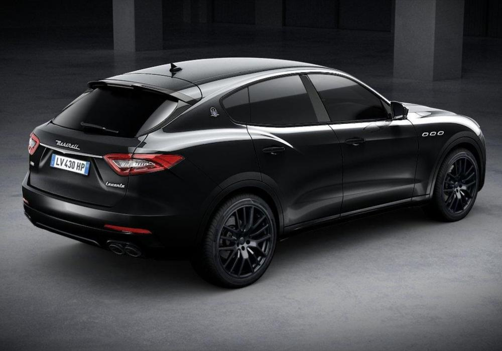 Maserati Levante GranSport S NERISSIMO EDITION